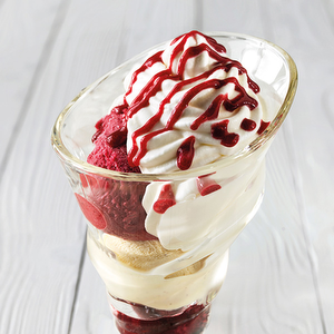 Coupe melbissima fruits rouges