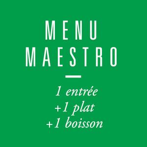 Menu Maestro Entree